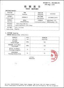 A193 B8M CL2证书