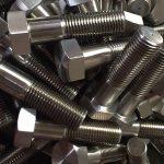 镍合金600 en 2.4816螺栓轮螺栓din931chinese供应商