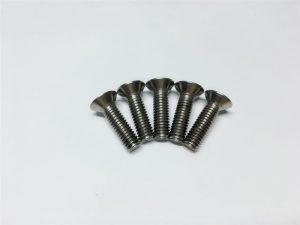M3,M6钛合金螺钉平头内六角头钛合金法兰螺钉适用于脊柱手术