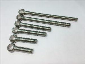 NO.38-904L 1.4539 UNS N08904眼螺栓,用于阀组装的定制螺栓