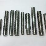 合金718 / 2.4668螺纹杆,双头螺栓紧固件din975 / din976
