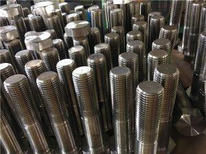 No.12-六角螺栓ISO4014半螺纹A193 B8,B8M,B8T,B8C SS紧固件