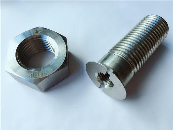 定制碳钢金属五金轨道螺栓和螺母