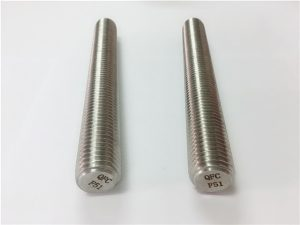 No.77 Duplex 2205 S32205不锈钢紧固件DIN975 DIN976螺纹杆F51