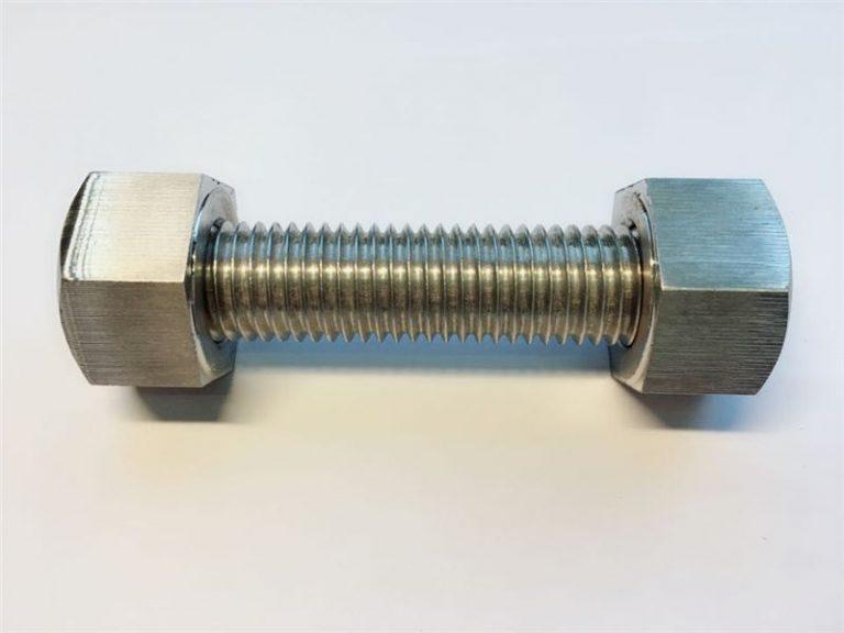 双头螺栓c / w 2重型六角螺栓