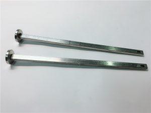 五金紧固件供应商316不锈钢平头方颈din603 m4支架螺栓