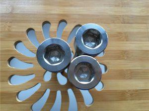 高品质ASEM六角套筒钛gr2螺钉/螺栓/螺母/垫圈/