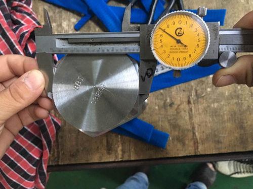 S31803六角头螺钉尺寸测试