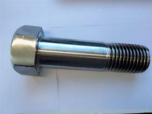 超级双相不锈钢din931半螺纹六角螺栓