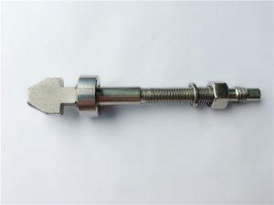 钛制盘式制动螺栓,带杯形和锥形垫圈